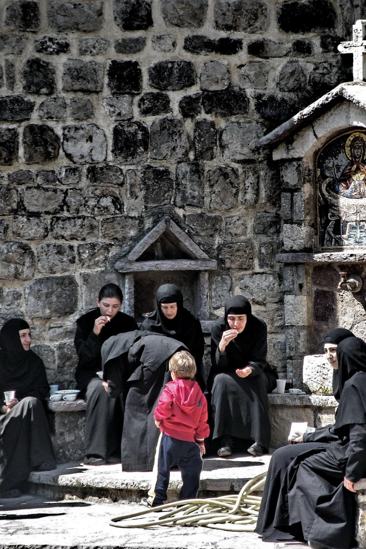 Boy and nuns-Tijana Lubura